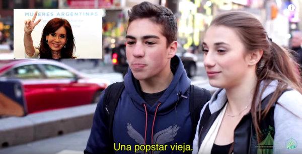 Estadounidenses intentan reconocer a famosos argentinos y Chismes de famosos argentinos 2016