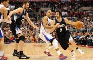 Ricky Rubio: el novato español que brilla en la NBA