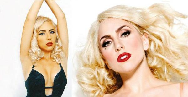 Doble oficial de Lady Gaga en Chile