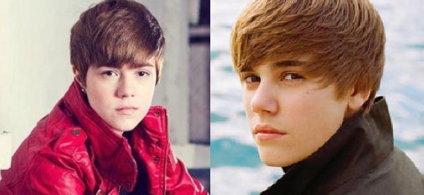 Doble oficial de Justin Bieber en Chile