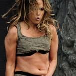 """Bochorno de Jennifer Lopez: Ingleses critican su """"vientre flácido"""""""