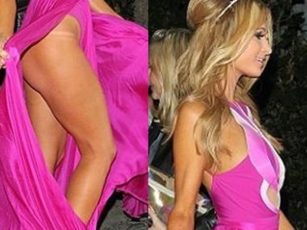 Britney hilton naked paris imagen lanza