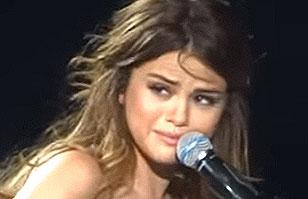 Selena Gomez llora en medio de un concierto por la muerte de Christina Grimmie