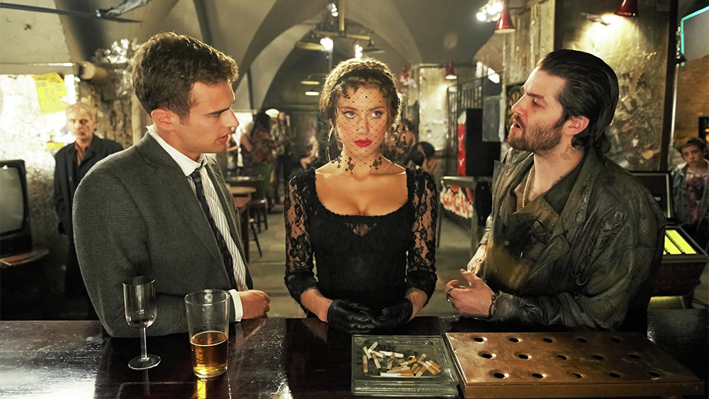 "Amber Heard en ""London Fields"" / IMDB"