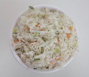 Como hacer arroz graneado