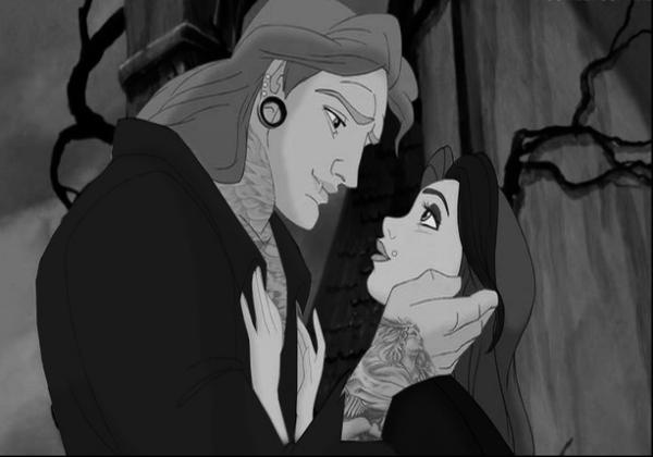 Princesas Disney rockeras