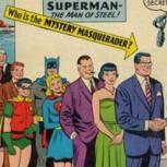 Subastan portada del cómic en que John F. Kennedy se disfraza de Clark Kent