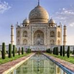Excremento de insectos amenaza los mármoles del majestuoso Taj Mahal