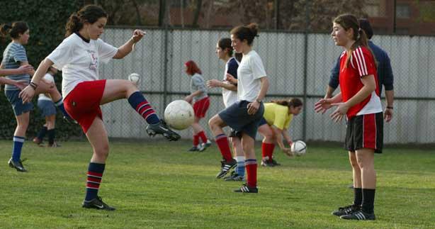 Fútbol niñas