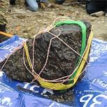 Recuperan el mayor trozo del meteorito de Cheliabinsk