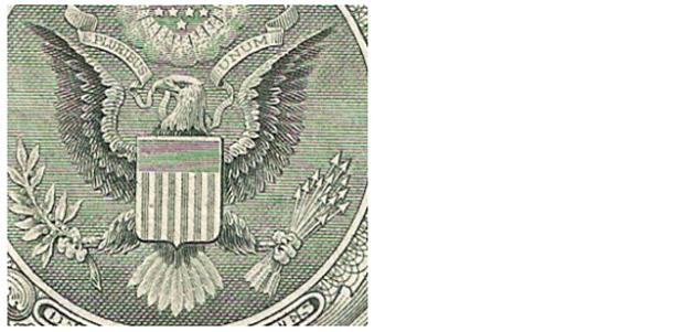 Símbolos Billete dólar