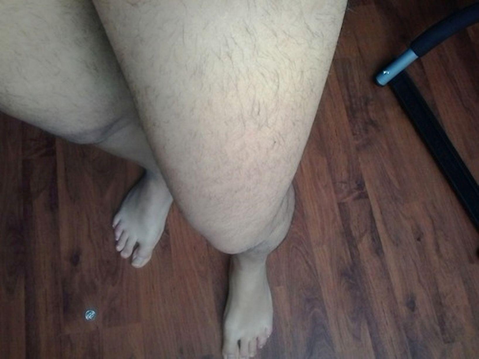 Fotos de mujeres con piernas peludas