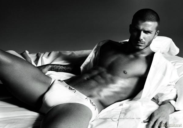 Beckham para Armani