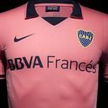 Hinchas de Boca Juniors en guerra contra camiseta rosada que estrenará el equipo