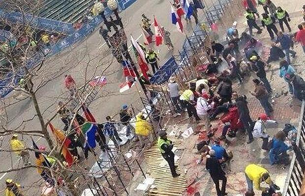 Explosiones Maratón de Boston