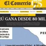 Prensa peruana: Diarios destacan que Perú le ganó a Chile en La Haya