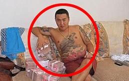 Filtran perturbadoras fotos de un gángster chino que perdió su celular