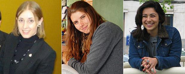 Tres escritoras filsa