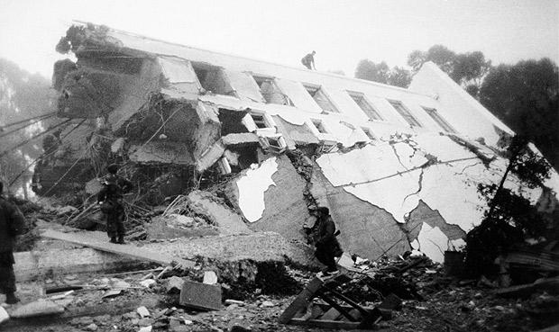 El Terremoto De 1985 Cuando La Tierra Sacudi 243 A La Mitad