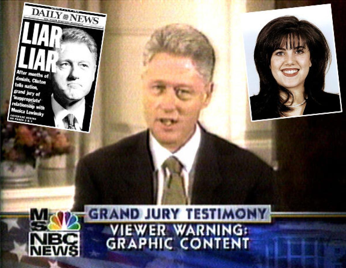 Monica lewinsky el acoso sexual subordinado