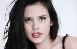 Angie Alvarado muestra la diferencia que logra el maquillaje en las cejas: Irreconocible