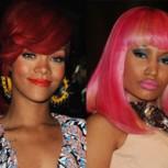 Rihanna lanza sugerente mirada a Nicki Minaj y foto es ampliamente comentada en las redes sociales