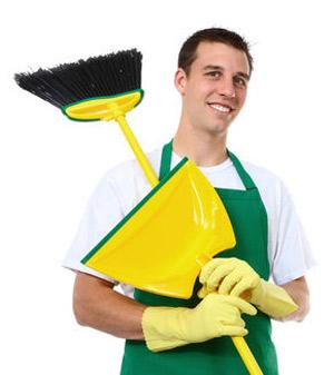 Hombres tareas hogar