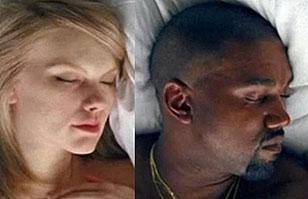 Videoclip con orgía de Kanye West: ¿Taylor Swift, Kim Kardashian y Rihanna desnudas?