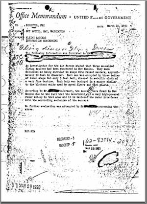 Roswell FBI