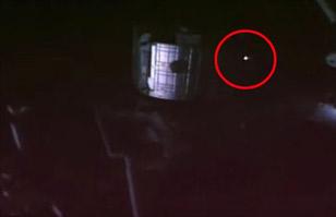 Misterio en el espacio: OVNI en llamas es visto cerca de la Estación Espacial
