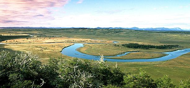 Destino de pesca Río Grande en Tierra del Fuego, Patagonia