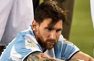 """Prensa argentina lapidaria con su selección ante fracaso con Chile: """"Es para llorar"""""""