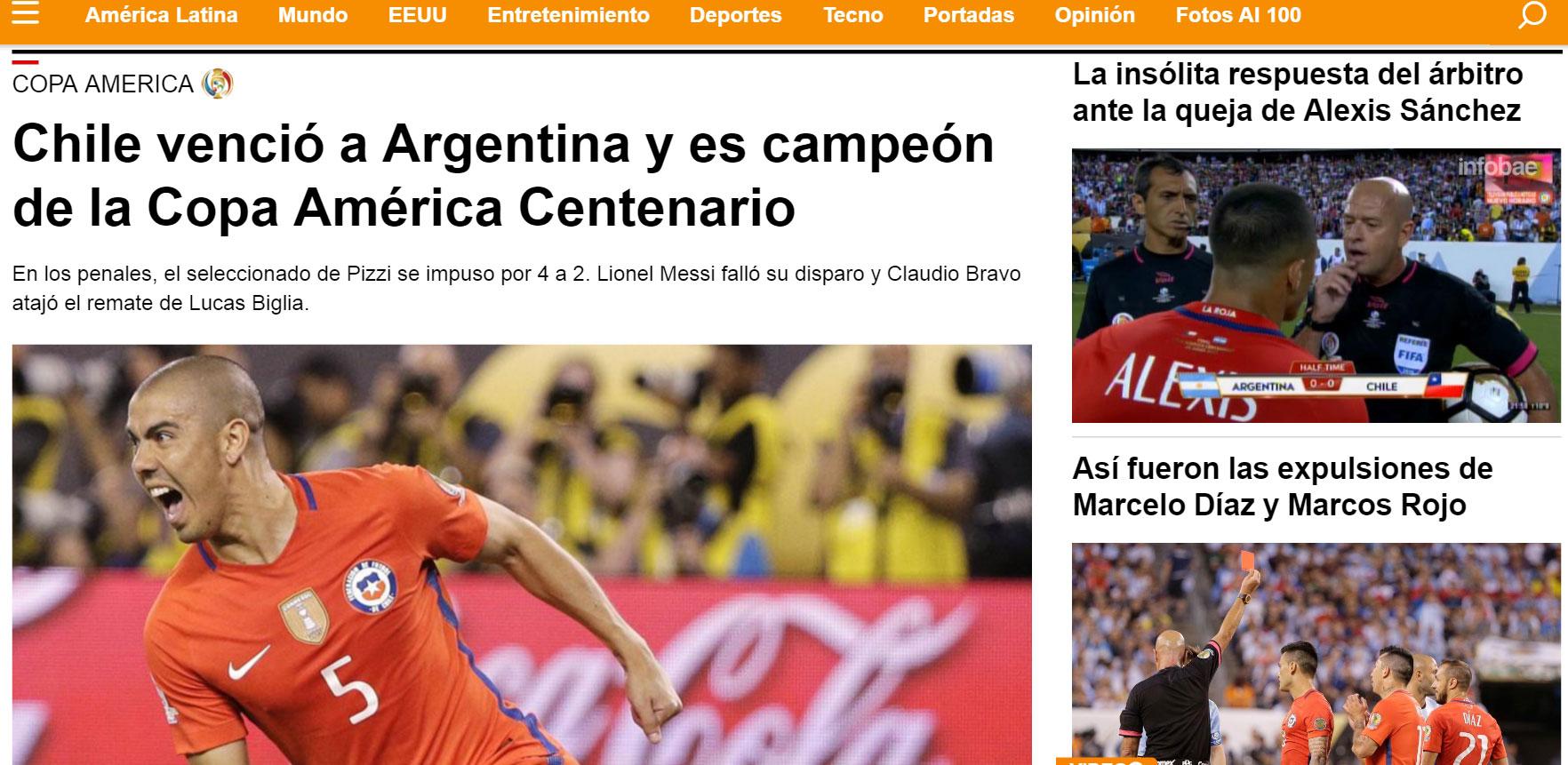 prensa argentina lapidaria con su selecci 243 n ante fracaso