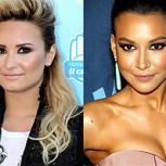 Demi Lovato y Naya Ribera: El romance lésbico que sacudirá a Glee