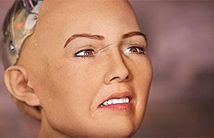 Sofía, la robot con aspecto humano que quiere aniquilar a la humanidad