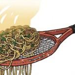"""La asombrosa """"raqueta spaghetti"""": ¿Cómo era esta arma secreta del tenis y por qué se prohibió?"""