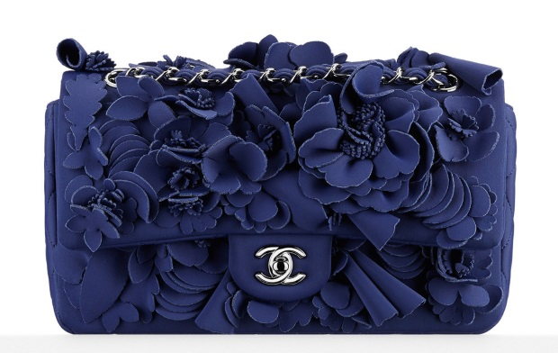 chanel-neoprene-flower-embellished-flap-bag