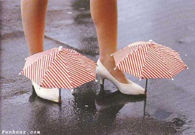 Esta es una gran demostración de cómo un mal accesorio puede convertir zapatos normales en los zapatos más feos del mundo
