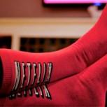 Los calcetines de Netflix que detectan si te quedaste dormido
