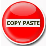 Contra los copiones de Internet: Simplemente no al Copy-Paste