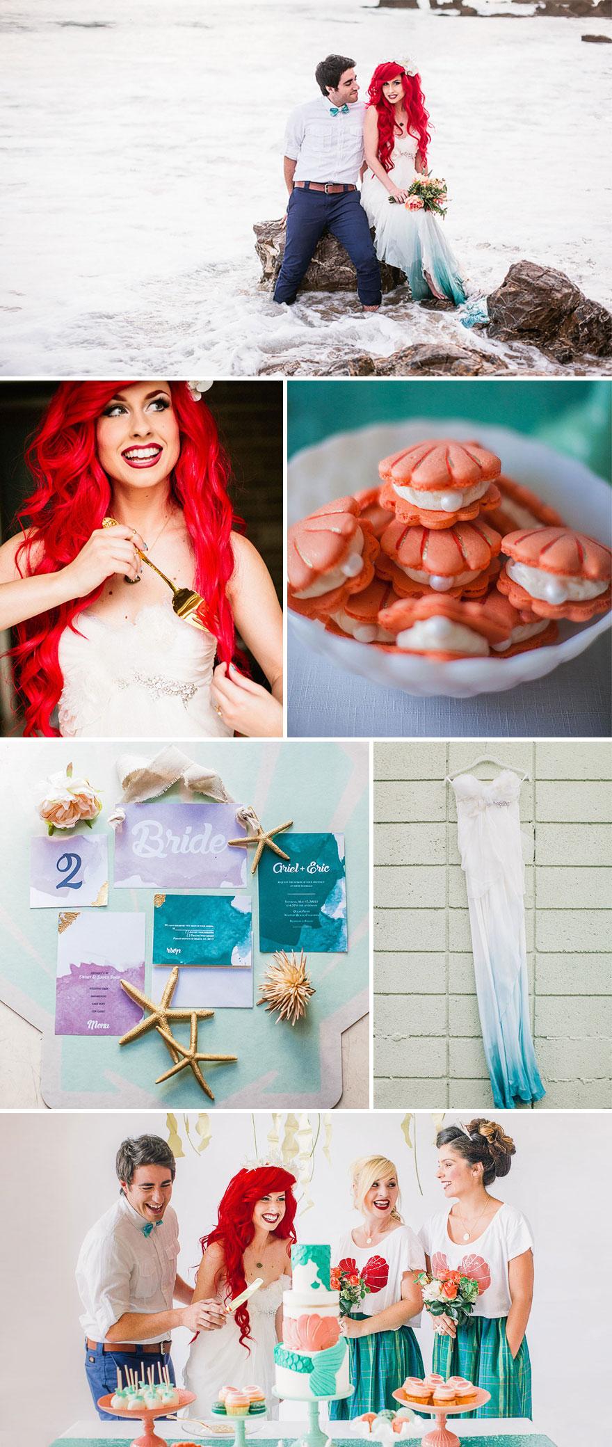 Estas son algunas de las bodas temáticas más impresionantes que verás: Ficción hecha realidad