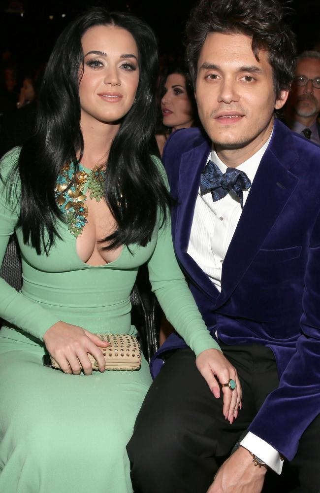 Katy Perry, y su mejor amante, John Mayer.