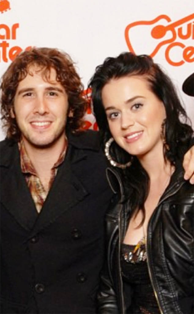 "Katy, y ""the one that got away"", Josh Groban."