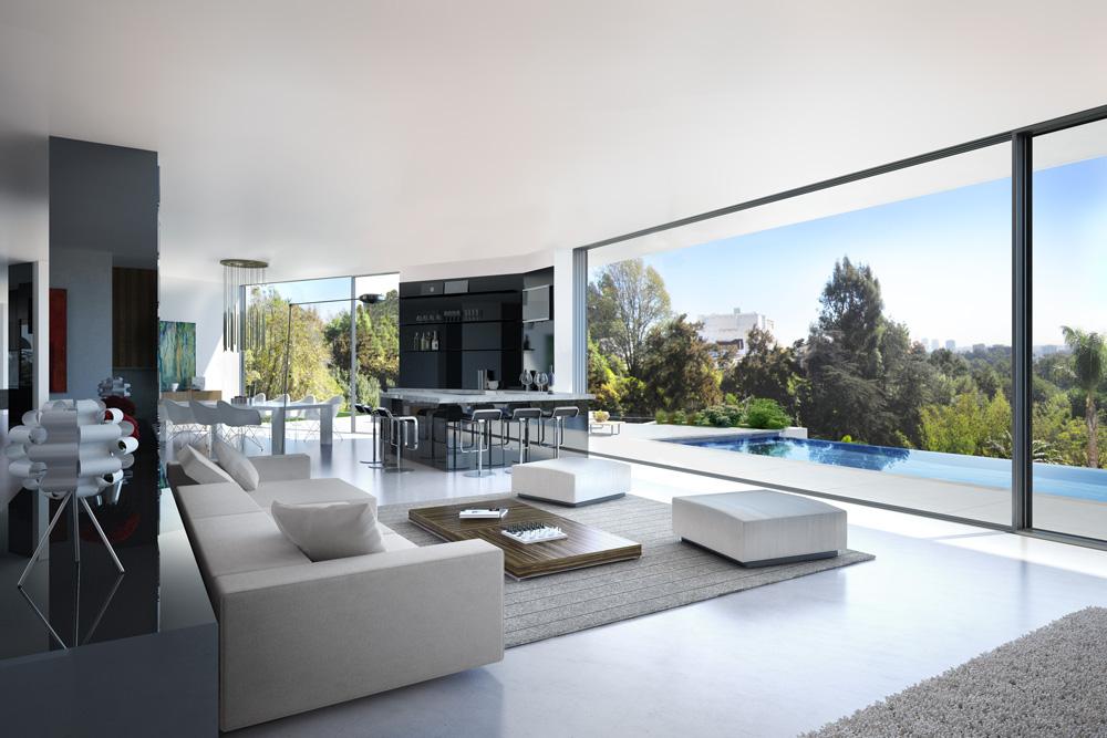 Arquitectura 3d ocho atributos de la apasionante creaci n - Casas de lujo interiores ...