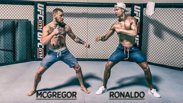 cristiano ronaldo vs conor mcgregor