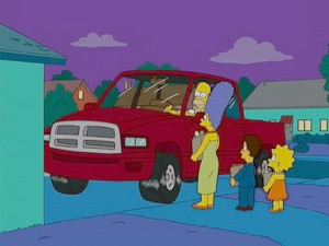 Simpsons Dodge Ram