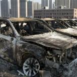 Más de 3.500 autos destruidos en el desastre de Tianjin