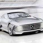 Mercedes Benz Concept IAA, un automóvil con aerodinámica variable