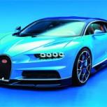 Bugatti presenta el Chiron, 1.500 CV para romper récords