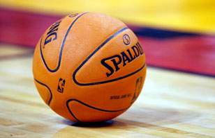 el balon de basketball: